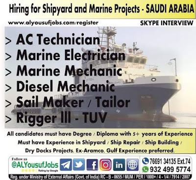 Shipyard and Marine Projects Saudi Arabia