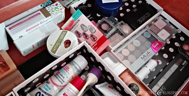 Zbiór wszystkich kosmetyków kolorowych | LUTY 2017
