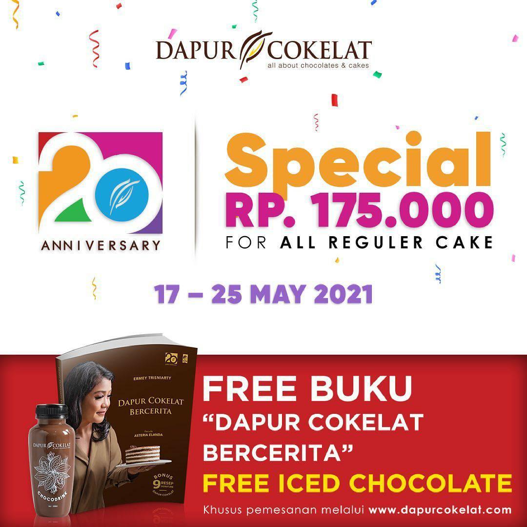 Promo Dapur Cokelat 20th Anniversary