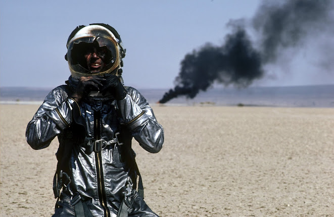 Sam Shepard as Chuck Yeagar in the 1983 film The Right Stuff