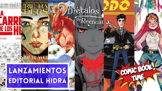 Novedades en comic y manga de Editorial Hidra para verano 2021
