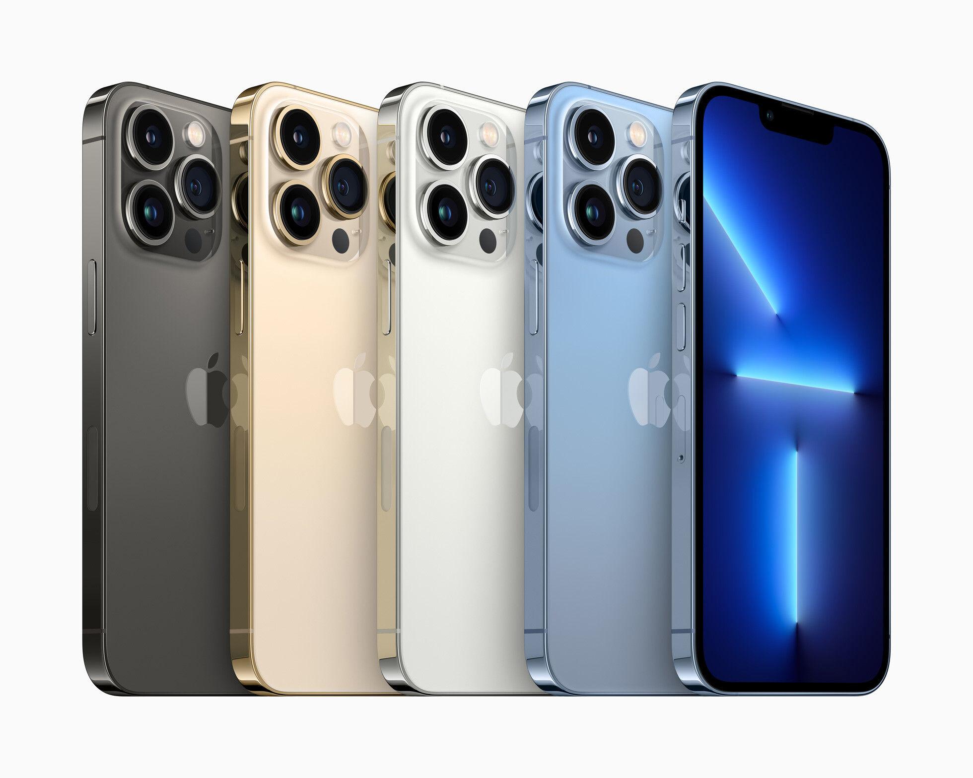 iPhone 13 akıllı telefonlar