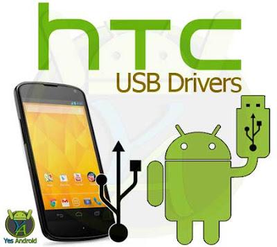 HTC USB Drivers Download (All Models)