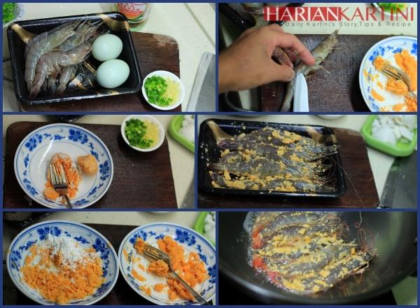 Resep Udang Goreng Saus Kuning Telur Asin Super Nyam-Nyam