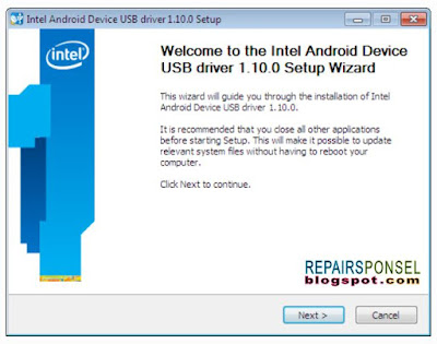 Download Intel Android Driver Setup v1.10.0