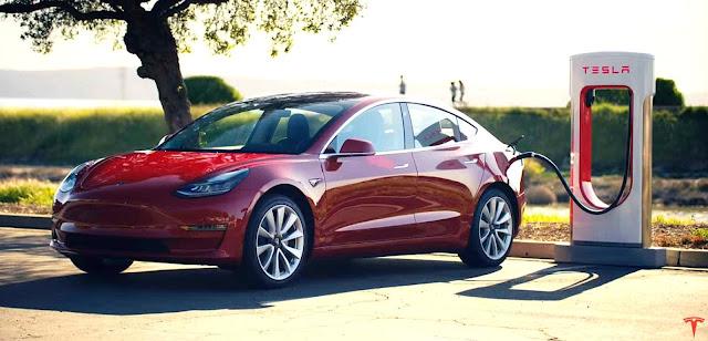 teknologi pengisian pada mobil listrik