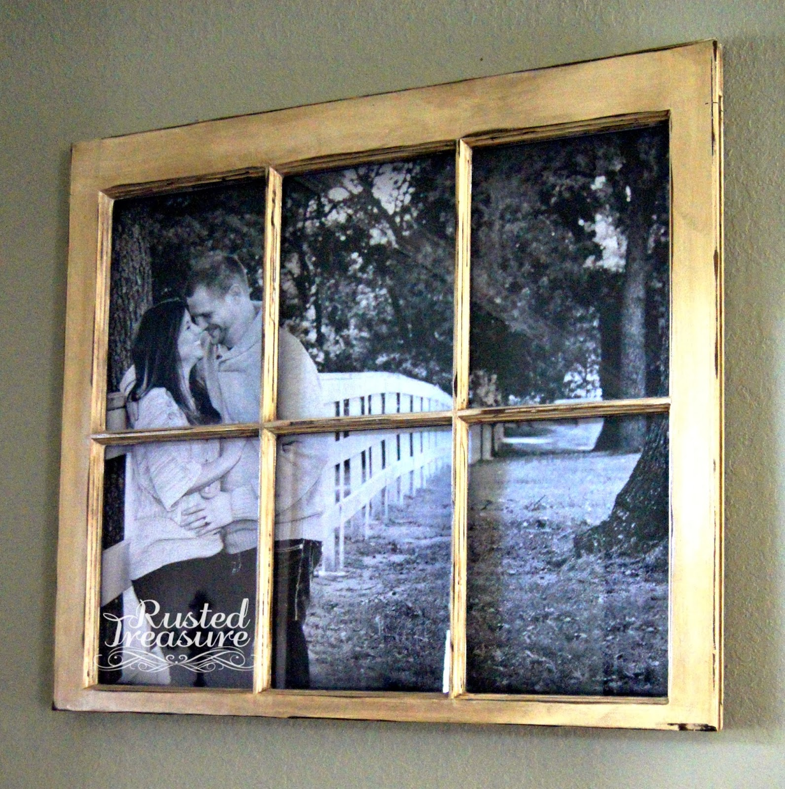 How To Seal Old Window Frames For Crafts