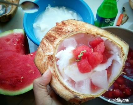 (DIY) Watermelon Coco Punch