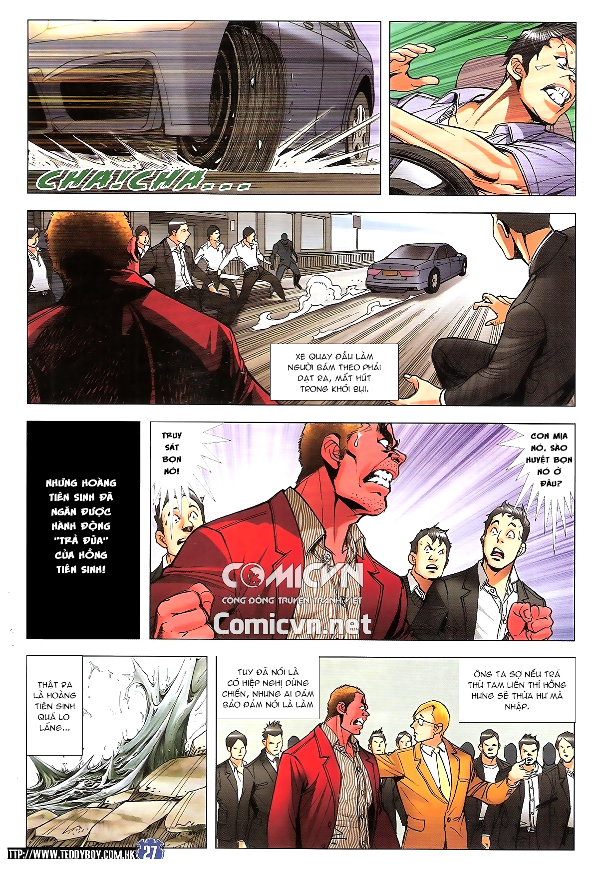 Người Trong Giang Hồ chapter 1807: hồng tiên sinh trang 26