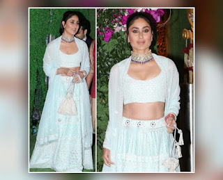 Kareena Kapoor At Akash Ambani Shloka Mehta Reception