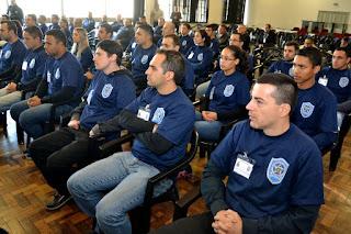 Guarda Municipal de Canoas (RS) começa curso para portar armas