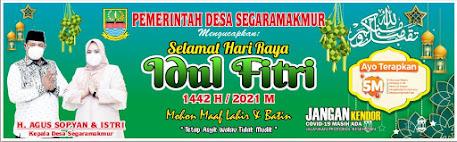 Kumpulan Template Spanduk Idul Fitri 1442 H Format CDR Gratis