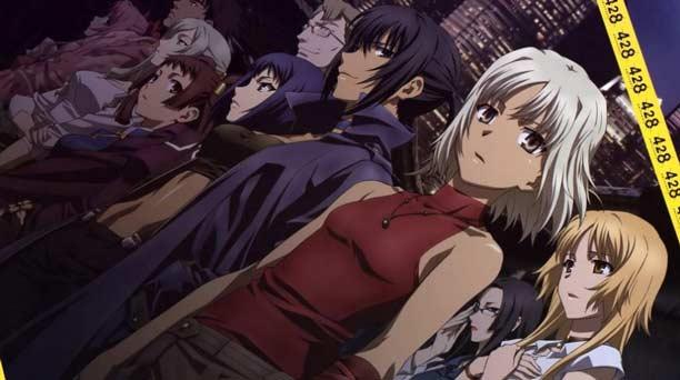 Anime P.A.Works Terbaik - Canaan