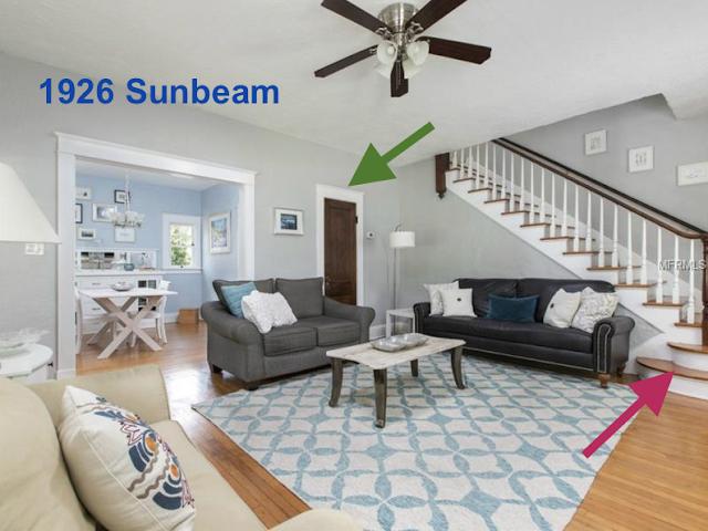 Sears Sunbeam living room closet