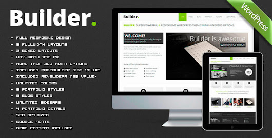 BUILDER v1.4.1 – Responsive Multi-Purpose Theme