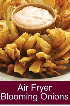 Air Fryer Blooming Onions