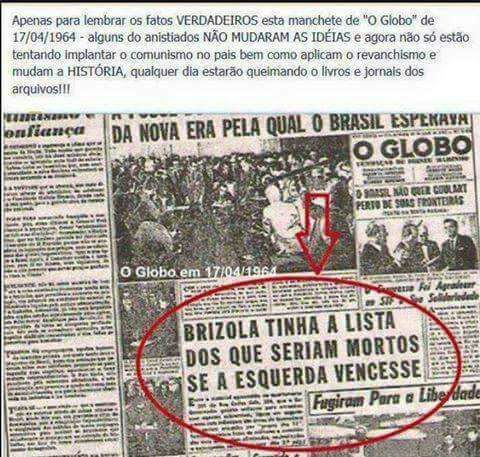 Golpe comunista brasil