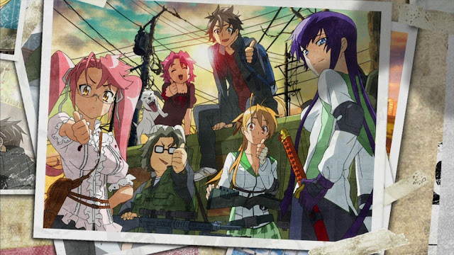 High School Of The Dead (12/12) (80MB) (HDL) (Latino) (Mega)