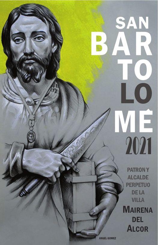 Cartel de  San Bartolomé 2021, Patrón de Mairena del Alcor