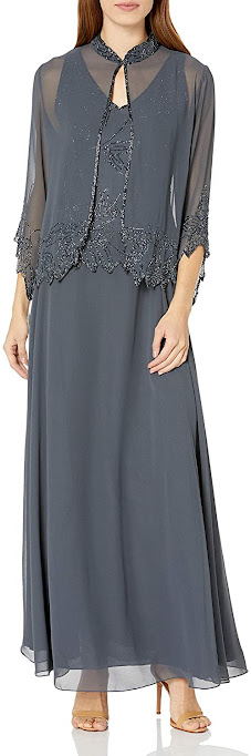 Charming Grey Mother of The Bride Dresses
