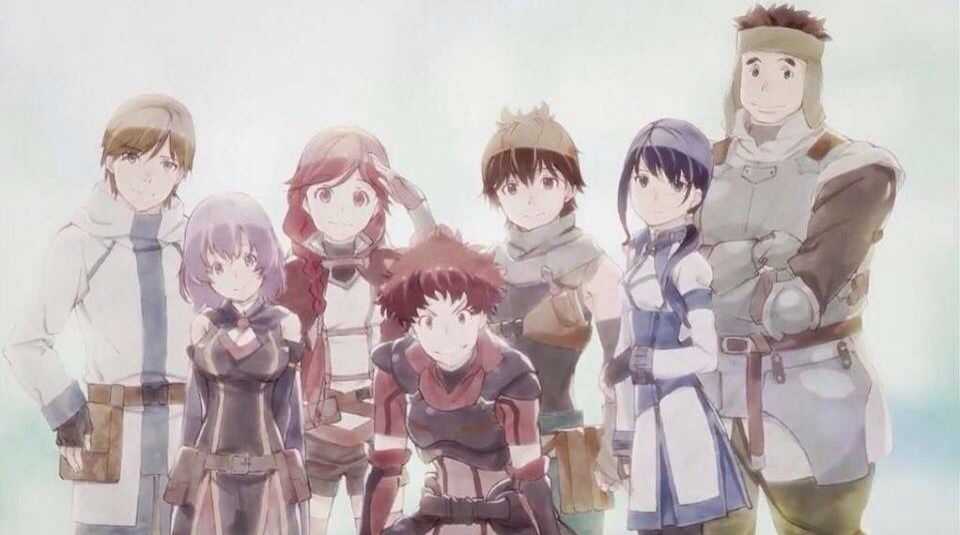 Hai to Gensou no Grimgar BD Subtitle Indonesia
