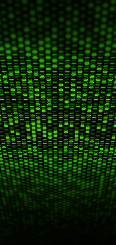 green binary code wallpaper for mobile phone hd