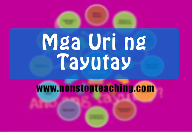 Mga Uri ng Tayutay