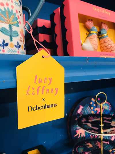 Lucy Tiffney Debenhams