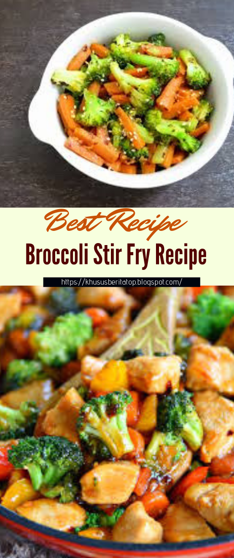 Broccoli Stir Fry Recipe #vegan #vegetarian #soup #breakfast #lunch