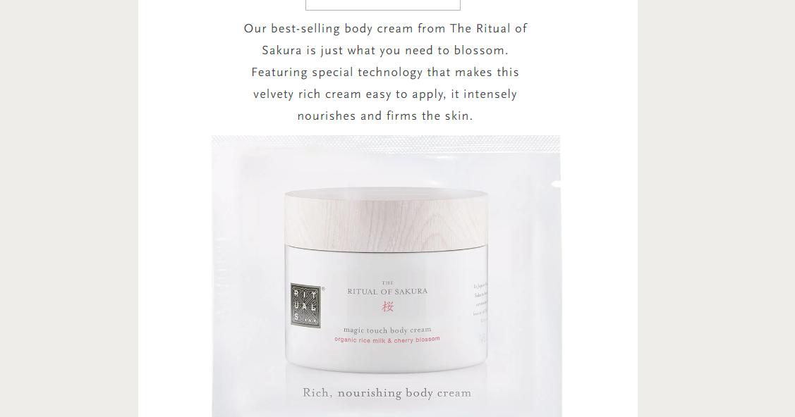 Get FREE Rituals Magic Touch Body Cream on CrazyFreebie.com