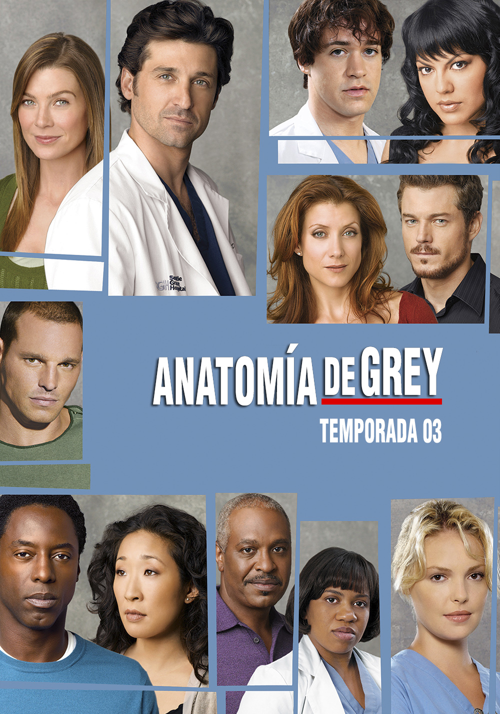 Greys Anatomy Temporada 3 1080p Dual Latino/Ingles