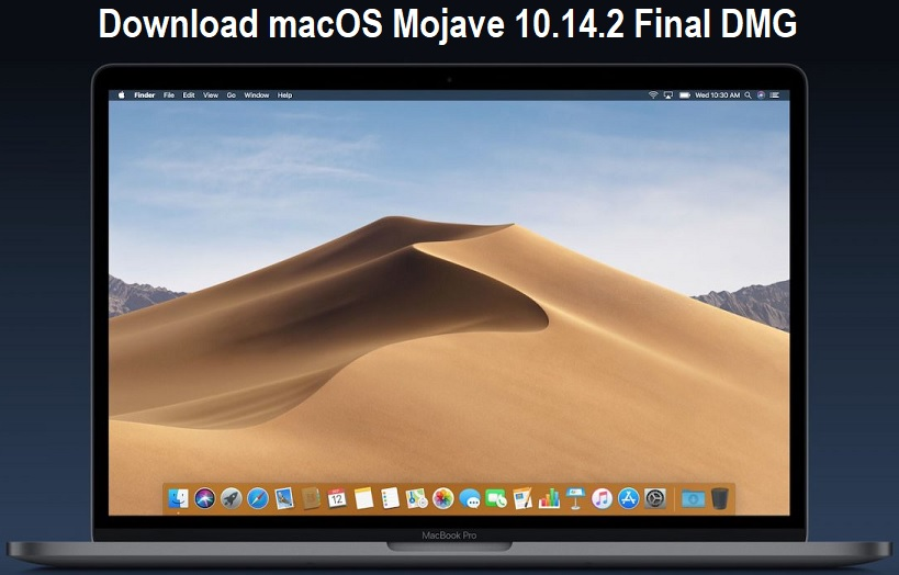 macOS Mojave 10 14 2 Final Update DMG Download Links