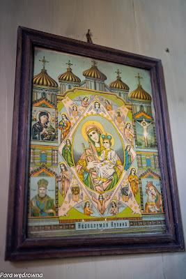 Obraz N.M.P. w prezbiterium
