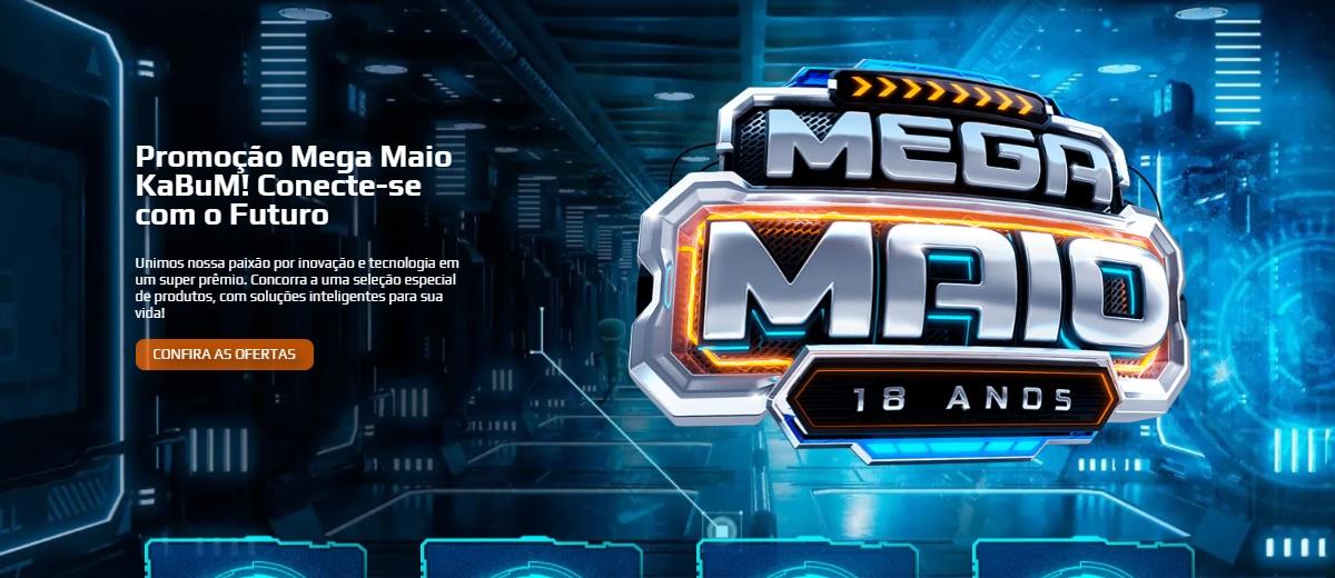 Mega Maio 2021 Kabum Promoção Prêmios