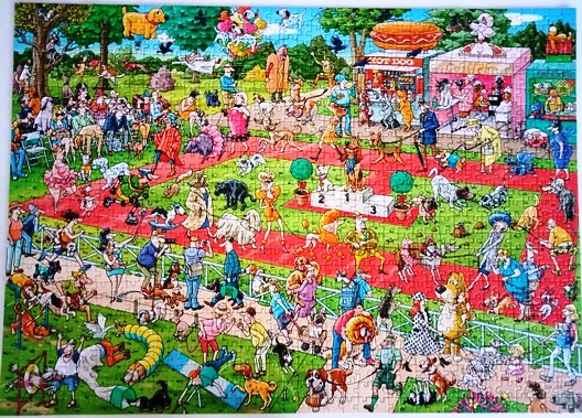 Dog show jigsaw - 1000 pieces