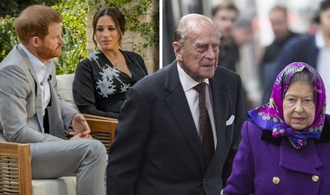 Queen and Prince Philip not behind Archie skin colour remarks, Oprah says