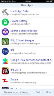 Hack App Data - screenshot 2