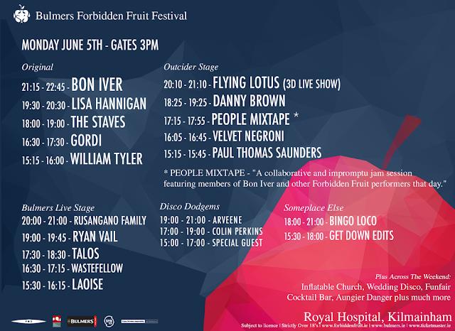 Forbidden Fruit Festival 2017 Monday