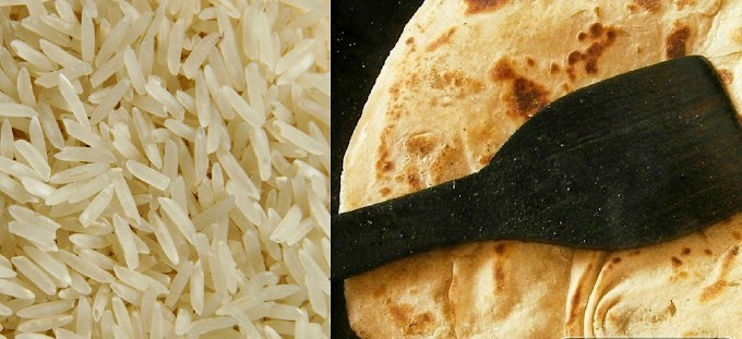 Rice or chapati : Which diet is better for weight loss?
