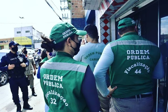 Prefeitura de Caruaru realizou mais um fim de semana com fiscalizações pela cidade