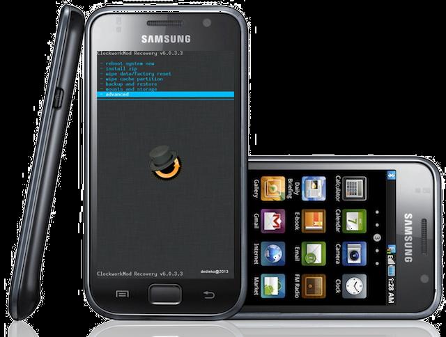 Cara Pasang CWM Pada Samsung Galaxy S GT-I9000