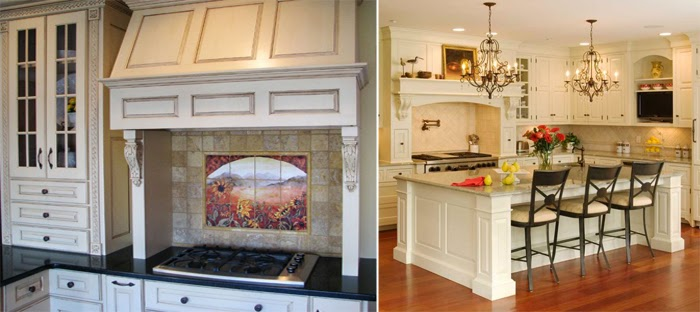 Home Exterior Designs: Create French Style Kitchen Or