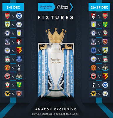 Amazon Prime Football - Premier League 2019/20 Season