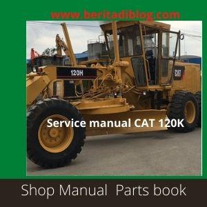 Service Manual CAT 120K caterpillar motor Grader