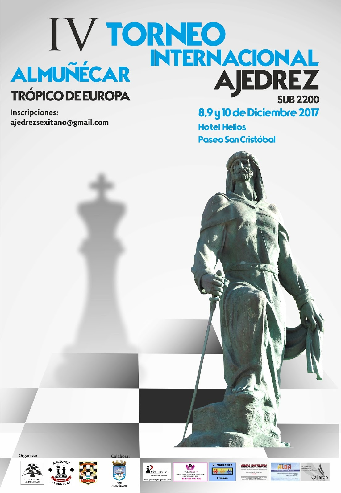 """IV Torneo Internacional Sub 2200 Almuñécar-Trópico de Europa"""