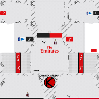 AC Milan 2019/2020 Kit - Dream League Soccer Kits