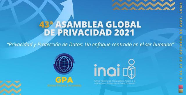 Más de 80 países en la 43° Asamblea Global de Privacidad en México en 2021