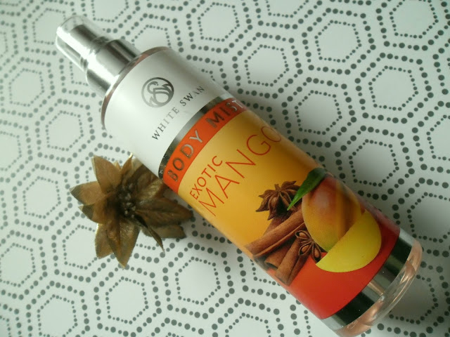 MGIEŁKA DO CIAŁA WHITE SWAN BODY MIST - EXOTIC MANGO
