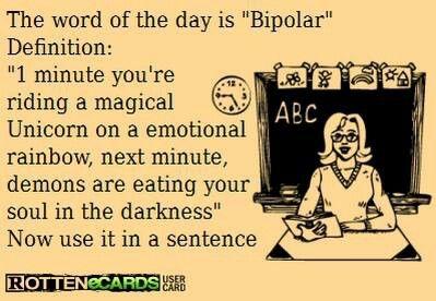 bipolar definition funny meme