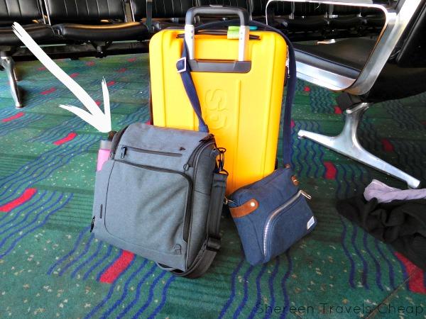 6f81409249 Shereen Travels Cheap  Review  Travelon s Urban N S Tablet Messenger Bag